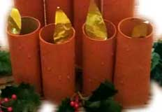 Candles Paper Craft