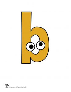 Lowercase b
