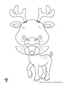 Deer Paper Bag Puppet