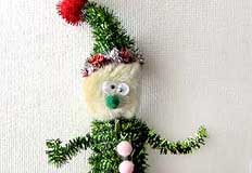 Elf Finger Puppet Craft