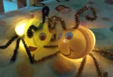 Fireflies Light Up Craft