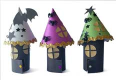 H Haunted Houses Craft