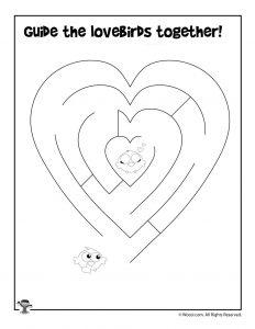Heart Easy Maze