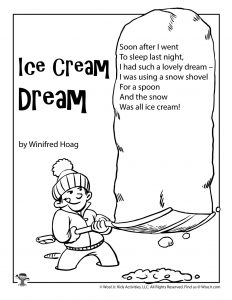 Ice Cream Dream Poem