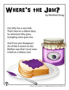 Jam Poem for Kids