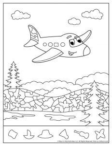 Jet Plane Hidden Pictures