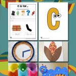 Letter C Worksheets & Crafts