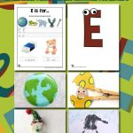 Letter E Worksheets & Crafts