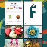 Letter F Worksheets & Crafts