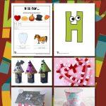 Letter H Worksheets & Crafts