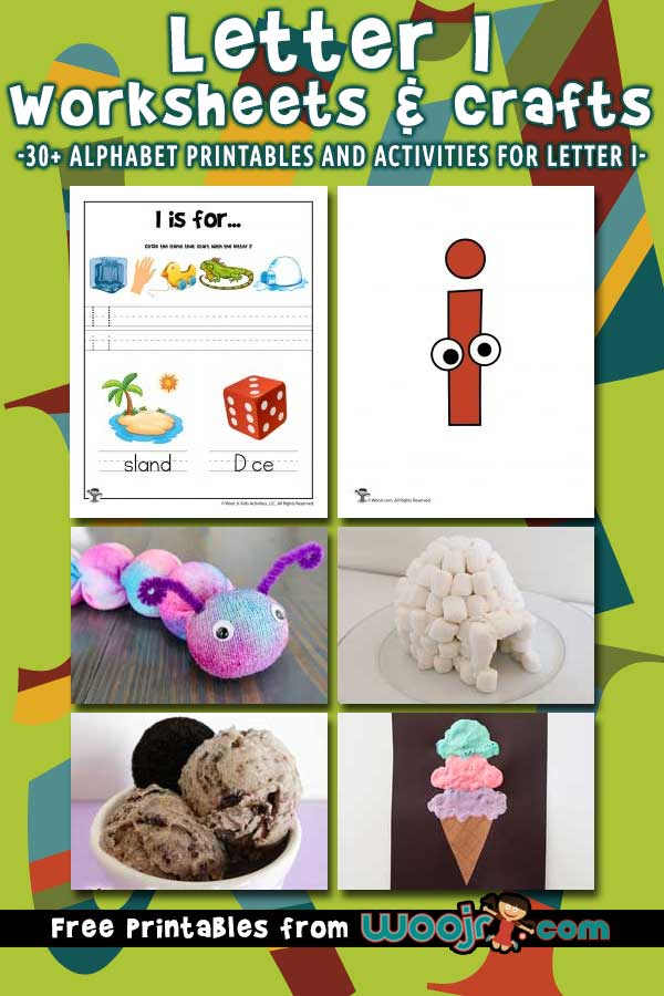Letter I Worksheets and Crafts