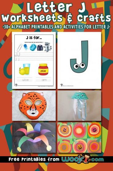 Letter J Worksheets & Crafts