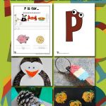 Letter P Worksheets & Crafts
