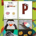 Letter P Worksheets & Crafts