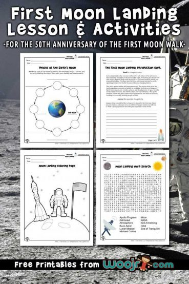 The First Moon Landing Lesson Plan & Activities for Kids
