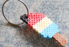 P Popsicle Perler Bead Craft