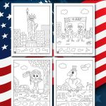 Patriotic Hidden Pictures Printables for Kids