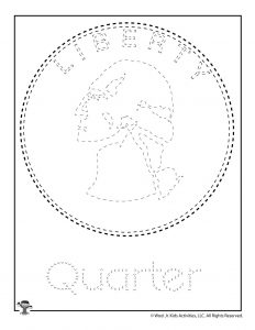 Q is for Quarter Word Tracing