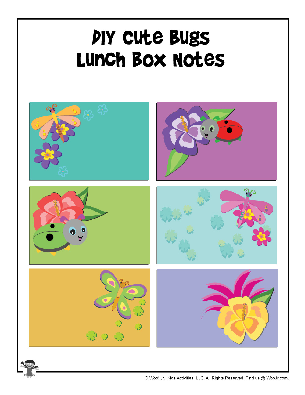 Write Your Own Printable Lunchbox Notes | Woo! Jr  Kids Activities