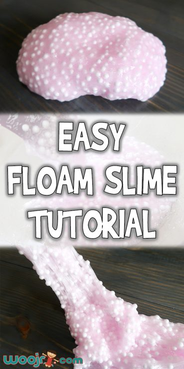 Easy Floam Slime Tutorial