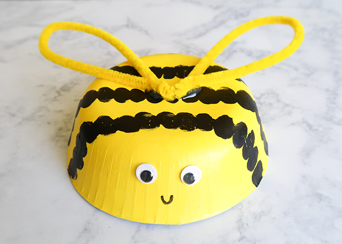 Easy Honeybee Craft