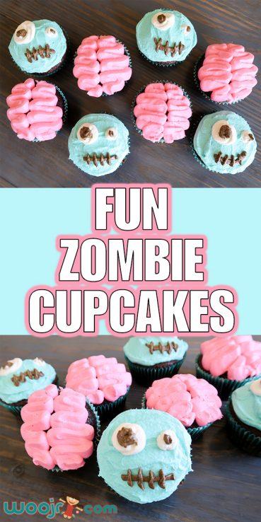 Fun Zombie Cupcakes