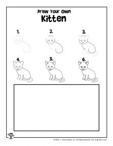 Kitten Drawing Tutorial