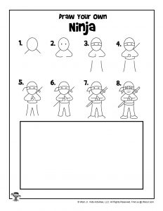 Ninja Drawing Tutorial