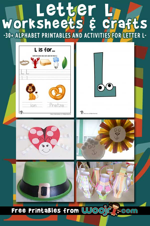 Letter L Worksheets and Crafts