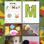 Letter M Worksheets & Crafts