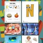 Letter N Worksheets & Crafts