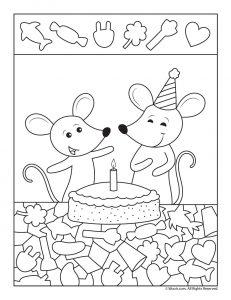 Mice Hidden Objects Activity