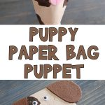 Puppy Paper Bag Puppet