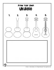 Ukulele Drawing Tutorial