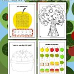 Apple Picking Activity Sheets
