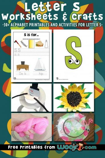 Letter S Worksheets & Crafts
