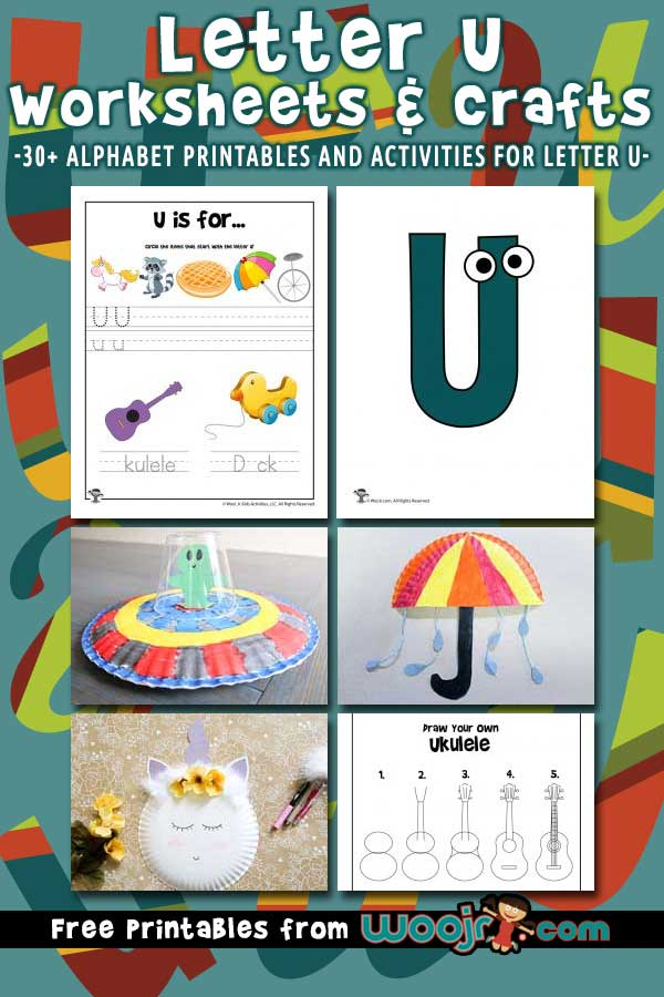 Letter U Worksheets and Crafts