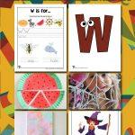 Letter W Worksheets & Crafts