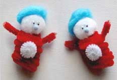 T Thing 1 & Thing 2 Dr. Seuss Craft