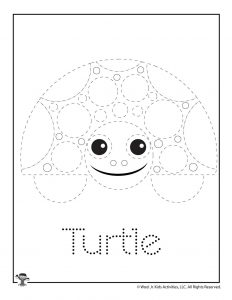 T is for Turtle Word Tracing