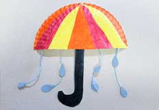 U Umbrella Craft