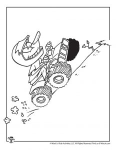 Uphill Coloring Sheet