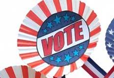 V Vote Election Day Craft