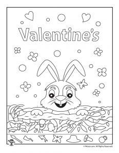 Valentine Hidden Pictures Page