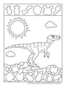 Velociraptor Hidden Objects