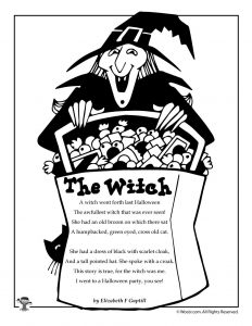 Witch Halloween Poetry