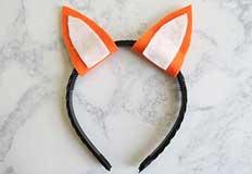 Fox Ears Headband Craft