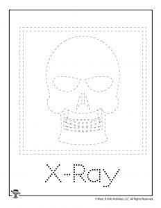 X is for X-Ray Word Tracing