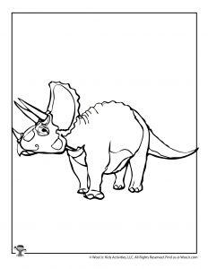 Xenoceratops Dinosaur Coloring Page