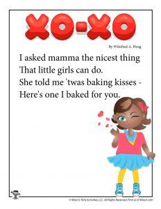 XO-XO Poem for Kids
